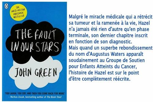 The Fault in Our Stars/Nos Étoiles Contraires, John Green