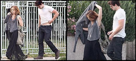 Miley Cyrus et Liam Hemsworth.