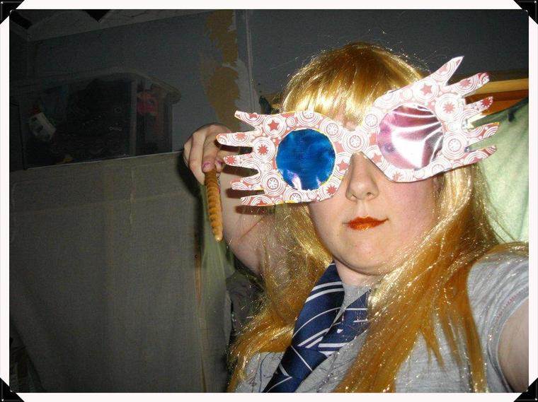 Luna Lovegood ϟ  idée de cosplay