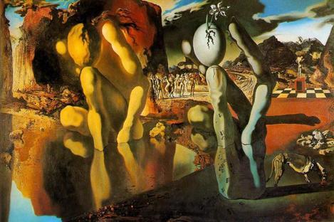 """La """"paranoïa-critique"""" de Dali"""