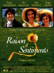 Raison & sentiments De : Jane Austen