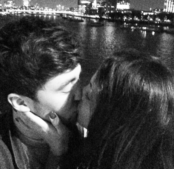Jesy Nelson and Jake Roche Kiss