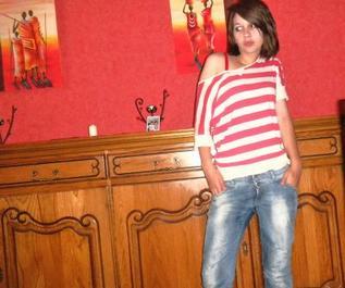 Une adolescente avec pleins de rêves