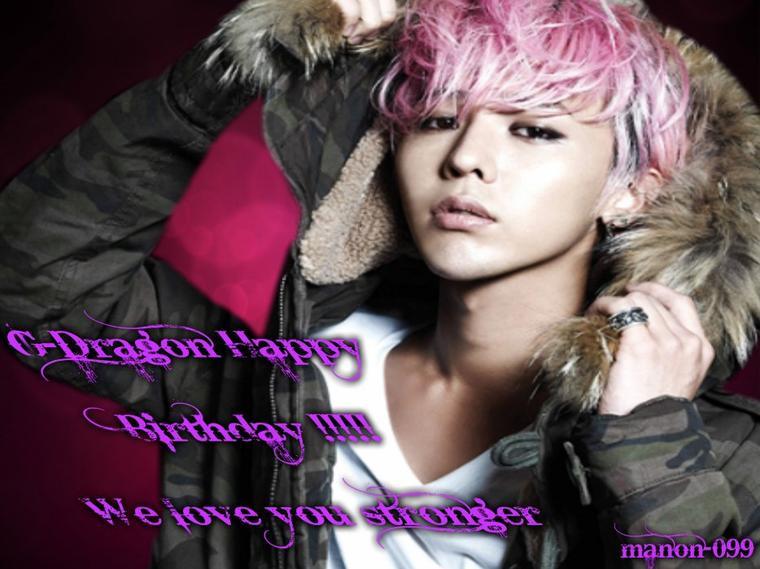 Evènement G-Dragon