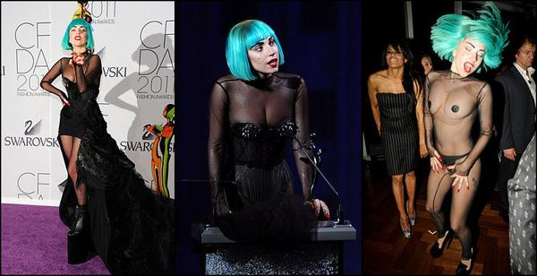 Lady Gaga, l'icône de la mode !
