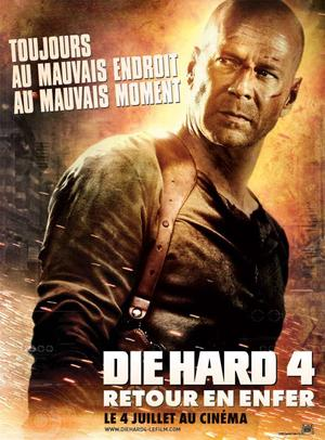 Die hard 4 :  Retour en enfer.