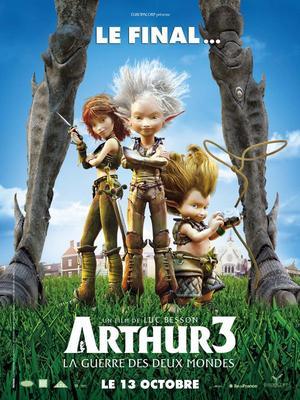 Arthur 3 : La guerre des deux mondes.
