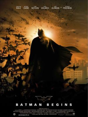 Batman begins.