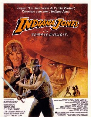 Indiana Jones et le temple maudit.