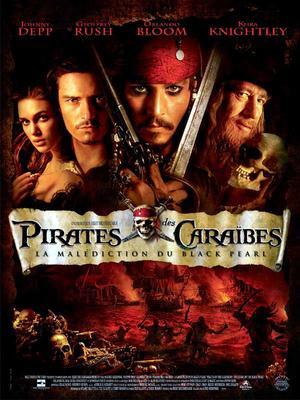 Pirates des Caraïbes : la malédiction du Black Pearl.