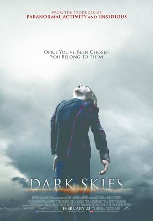 Dark skies.