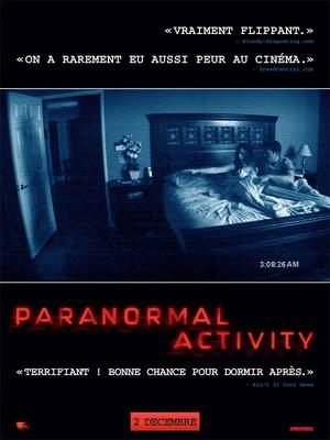 Paranormal activity.