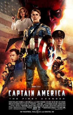 Captain America :  the first avenger.