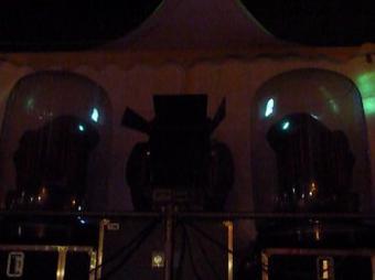 Nocturne patinoire animée par DJ Guilhom Kreagan pour Magie de Noel Carcassonne 2012