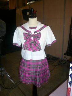 voici tenue de la Japan Expo de l'année dernièere