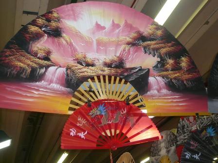un éventaille très coloré de la Japan Expo de l'année dernière