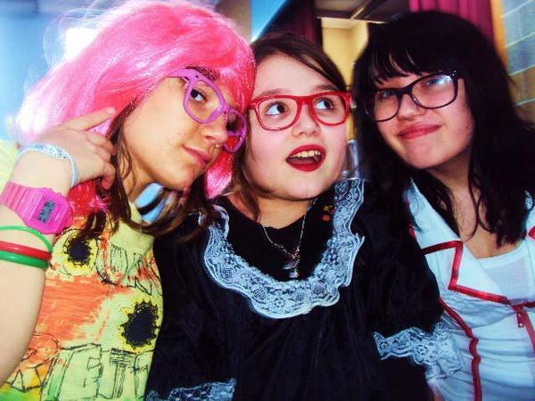 Giuliana ; Moi ; Fanny