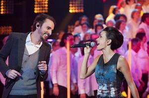 6 Janvier 2o12, 500 choristes sur TF1