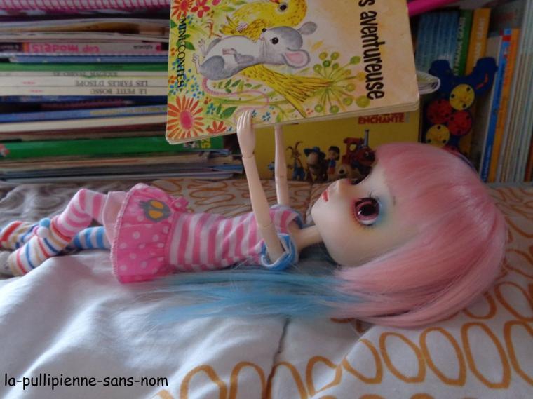 séance photo: Lounah et les livres