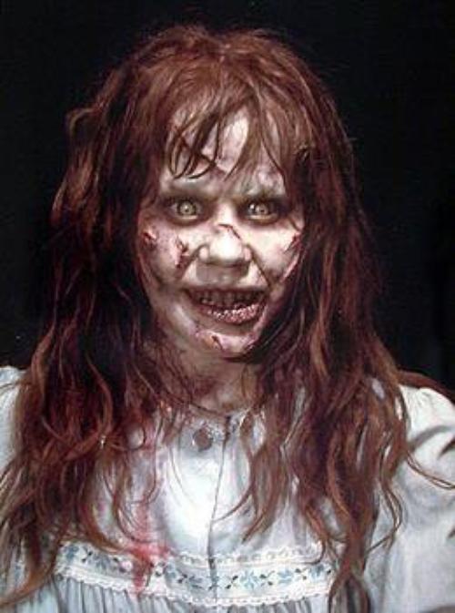 """A po duken njejt ??? Dafina Dhumpiri dhe qika nga filmi """"The Exorcism"""" Oh My God... Zoti na RRUJT !!!"""