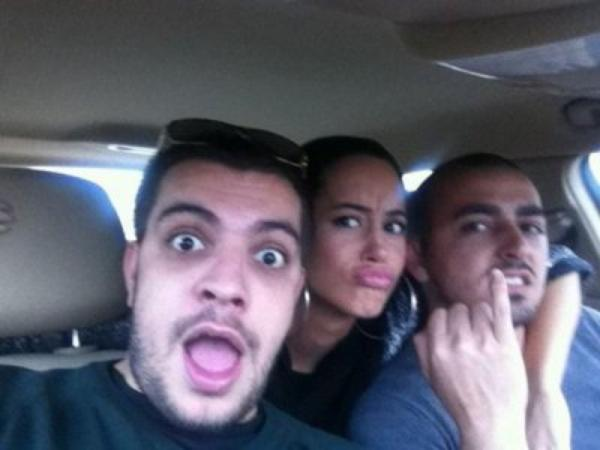 Dafina Zeqiri e shan Drin Zatriqi ne Internet por prape po del neper foto me te si mike te ngushte !! A din dikush qka ka kjo qike?