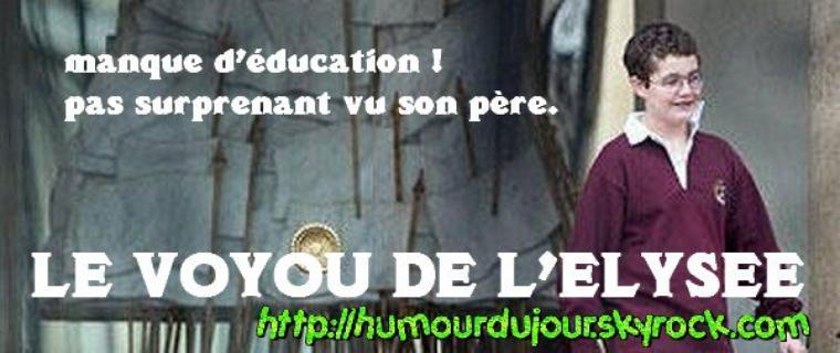 DERNIERE HEURE .UN VOYOU A L'ELYSEE ! OU +, SCANDALE QUE FEREZ VOUS MONSIEUR LE PRESIDENT LES FRANCAIS ATTENDENT LA PUNITION