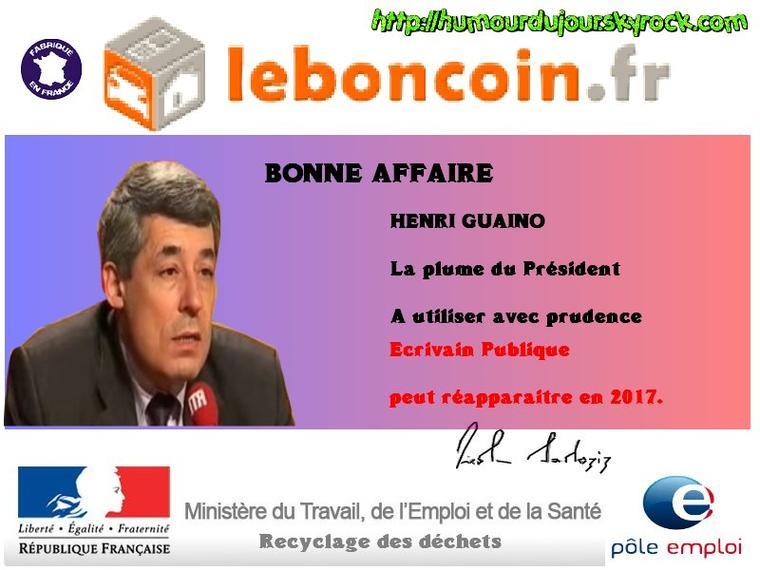 LES AFFAIRES DU BON COIN LE 7 MAI 2012 / LAISSEZ VOS COMMANDES DANS LES COMMENTAIRES