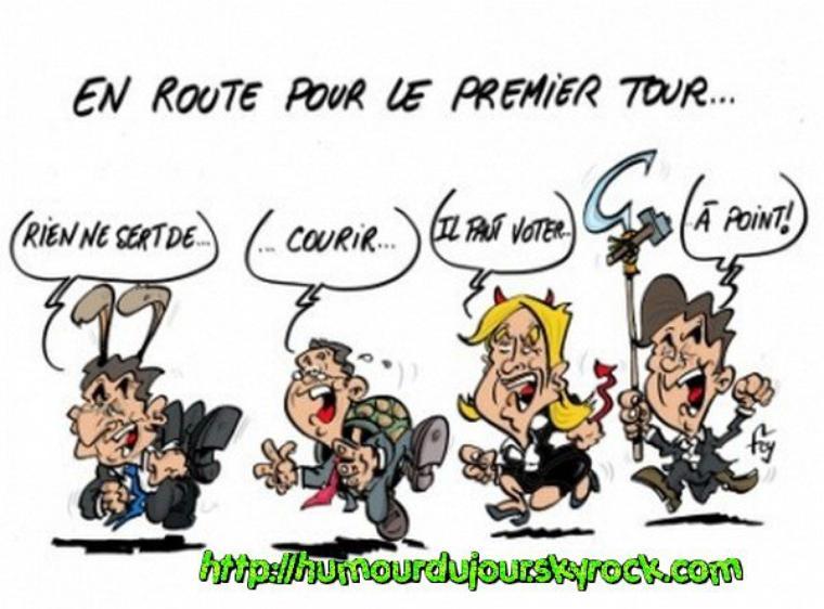EN ROUTE POUR LE 1ER TOUR