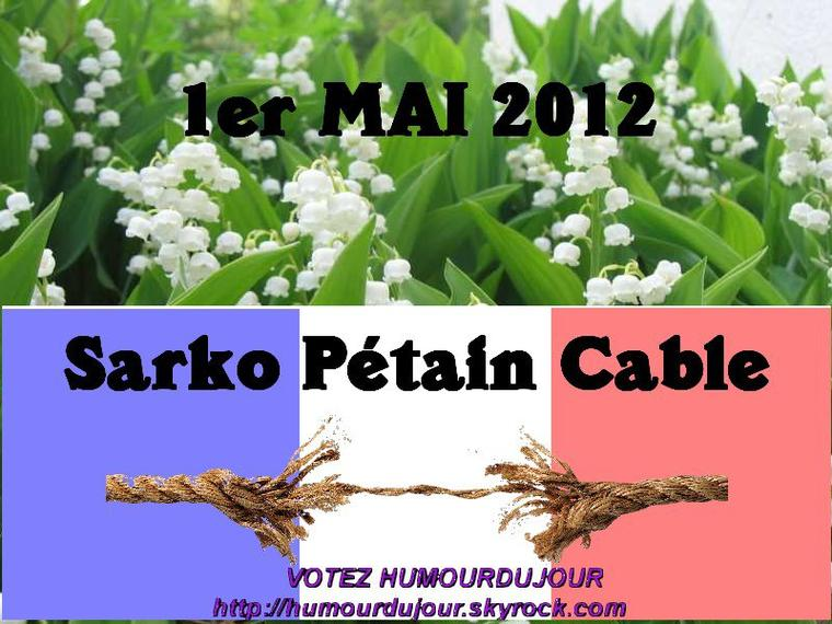SARKOZY PETAIN CABLE