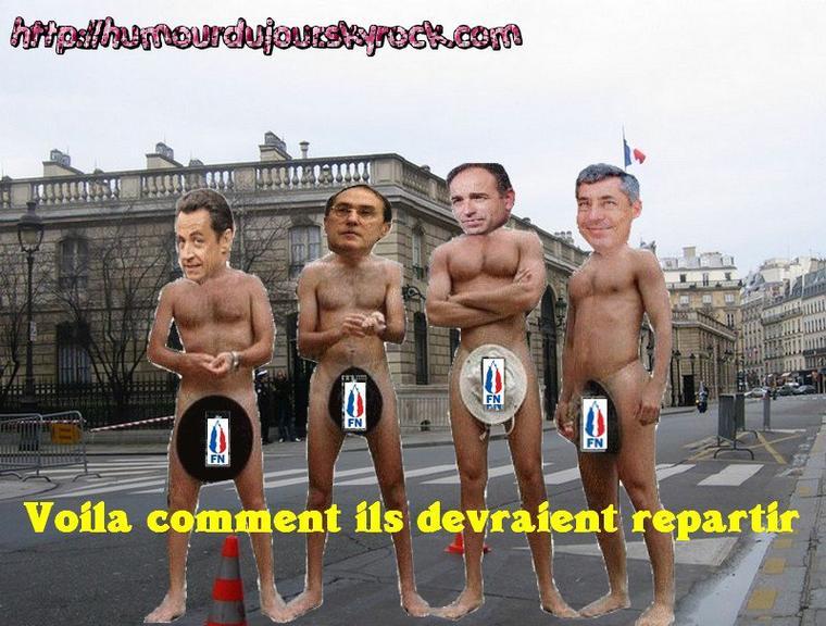 VOILA COMMENT ILS DEVRAIENT REPARTIR