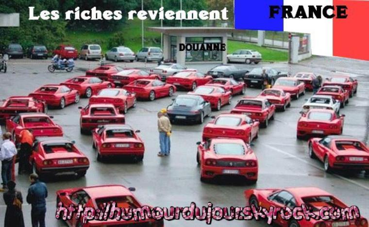 LES RICHES REVIENNENT LOL
