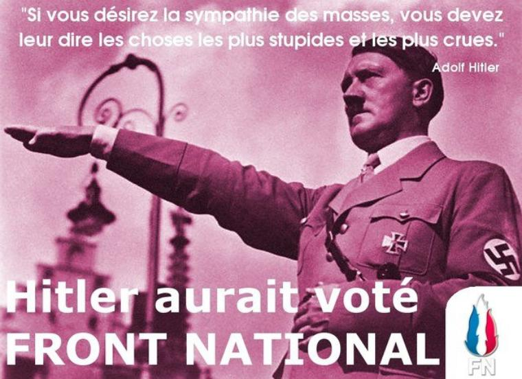 ADOLF-HITLER AURAIT VOTE FRONT NATIONAL