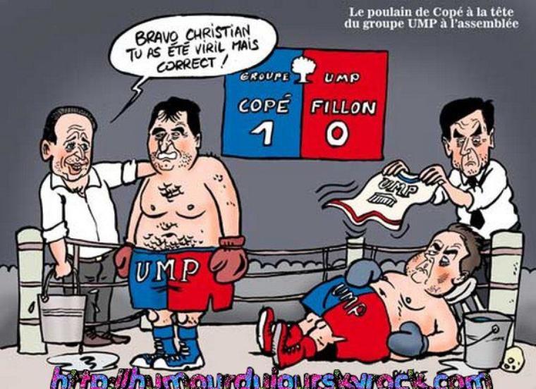 UMP LE COMBAT DES CHEFS