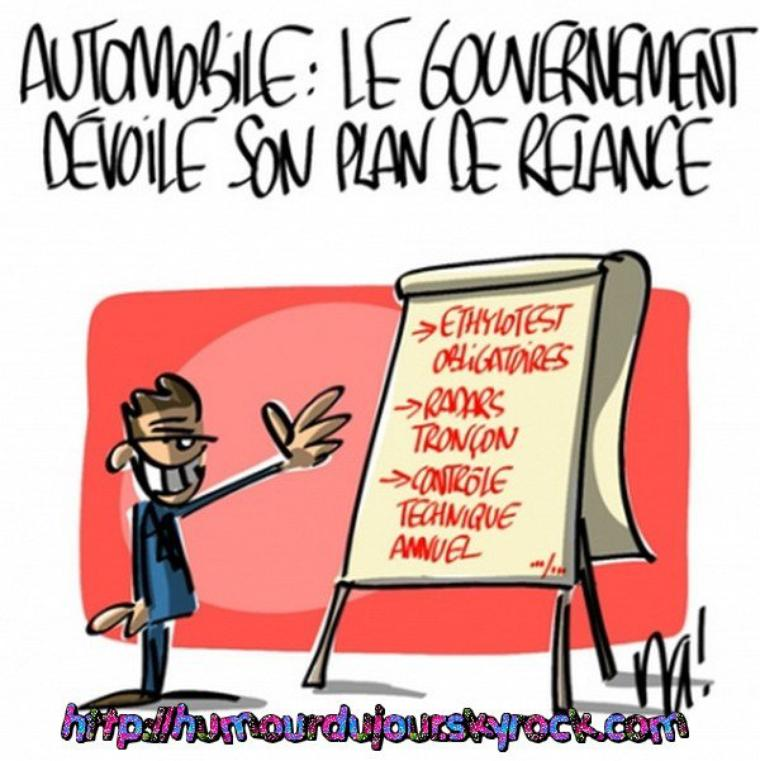 PLAN DE RELANCE AUTOMOBILE
