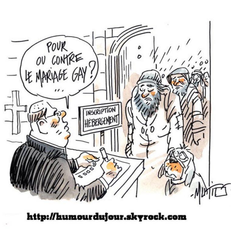 POUR OU CONTRE LE MARIAGE GAY