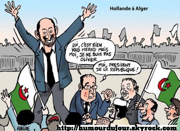 HOLLANDE A ALGER