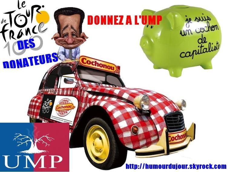 LE TOUR DE FRANCE DE L'UMP
