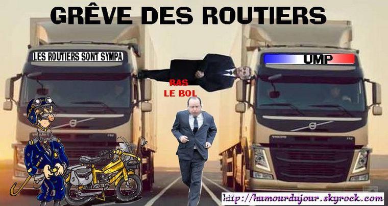 GRÉVE DES ROUTIERS