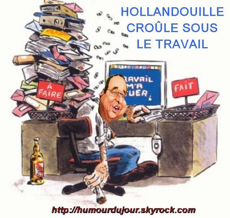 HOLLANDE DEBORDE DE TRAVAIL