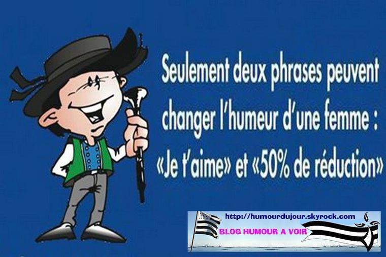 HUMEUR D'UNE FEMME !