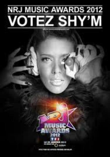 SHY'M - Votez pour moi aux NMA !!