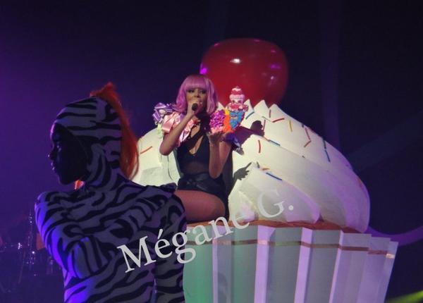 Shy'm concert a Limoge (photo de mégane)