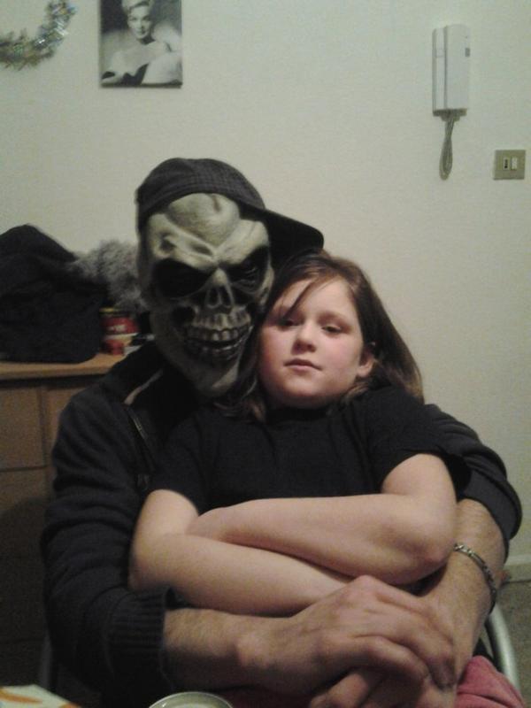 Mon frere Stan et ma soeur Zelia