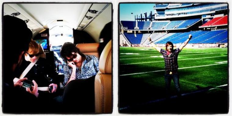 John a publié quelques anciennes photos sur Twitter...