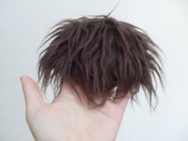 Wig Fur marron.