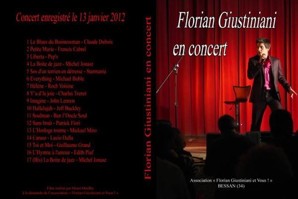 DVD FLORIAN GIUSTINIANI ( 2ème )