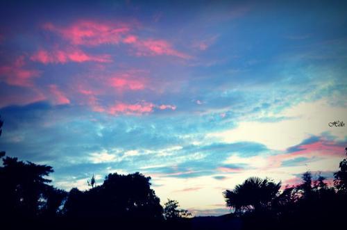 Le ciel m'est tombé sur la tête.