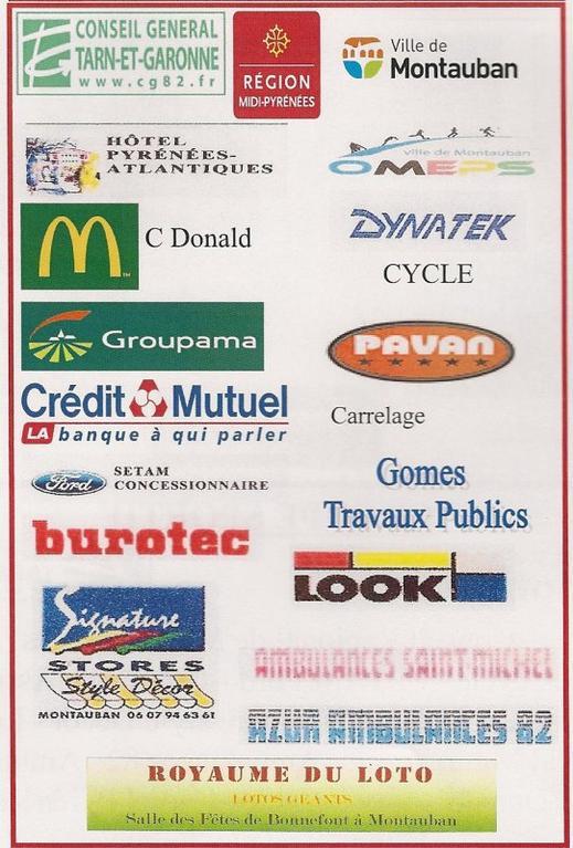 Les Partenaires de l'USM Cyclisme