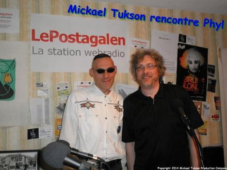 ♫ Mickael Tukson EN VISITE DANS LES LOCAUX DE LePostagalen ♫