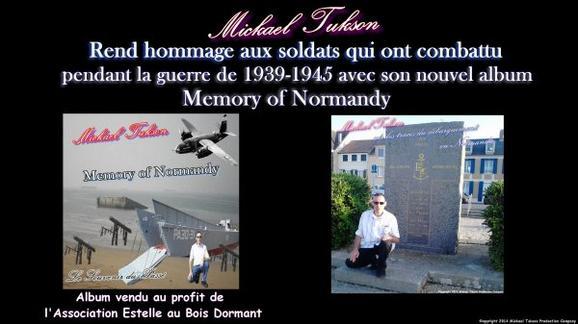 Mickael Tukson rend hommage à sa manière